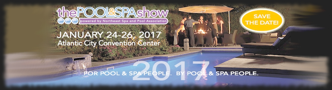 Industry trade show announcement the pool and spa show for Pool trade show